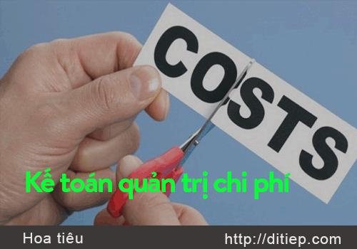 Kế toán quản trị chi phí