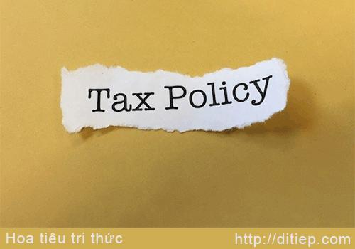 Chính sách thuế là gì