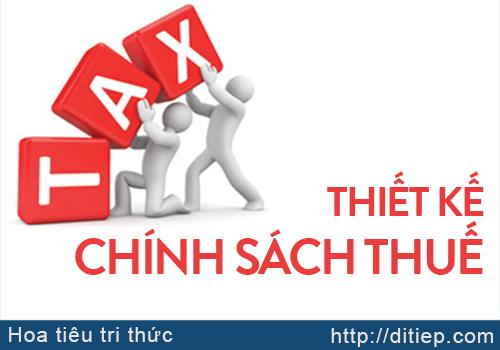 Thiết kế chính sách thuế