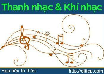 Nghệ thuật âm nhạc: Thanh nhạc và khí nhạc