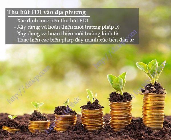 Phương pháp thu hút đầu tư trực tiếp nước ngoài FDI vào địa phương