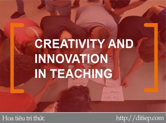 Những dấu hiệu dạy học sáng tạo