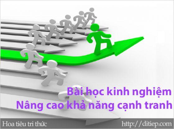 Sử dụng các công cụ tài chính vĩ mô nâng cao khả năng cạnh tranh