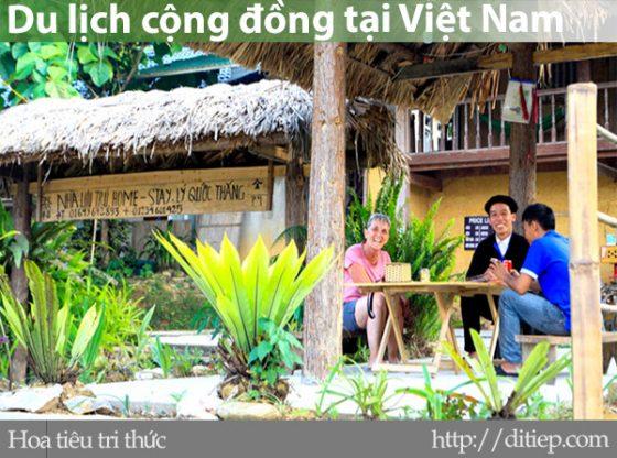 Thực trạng hoạt động du lịch cộng đồng tại Việt Nam