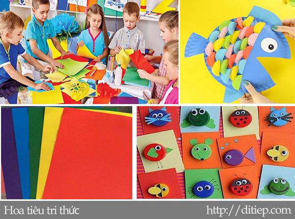 Tính sáng tạo và học tập Thủ công ở tiểu học